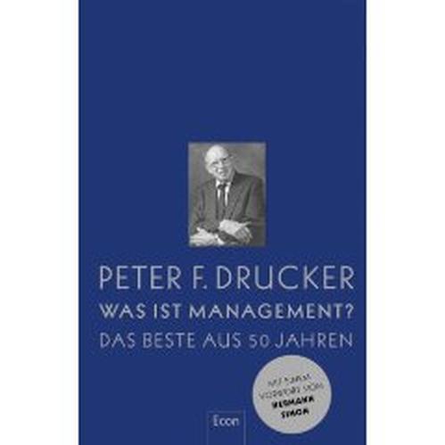 Management guru peter f drucker